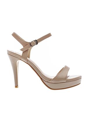 St. Platform Heel Sandals