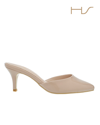 sale Enamel Pointed toe mules
