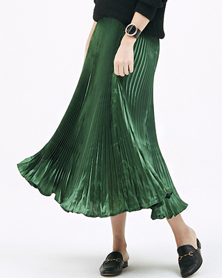 Metallic Pleats SK
