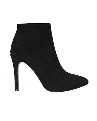 Suede Slim Ankle Boots