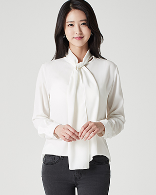 Soft Scarf Blouse