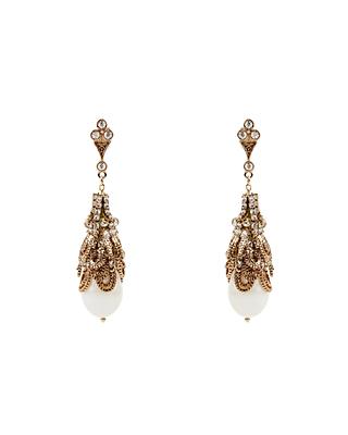 Liza brooch pearl earring