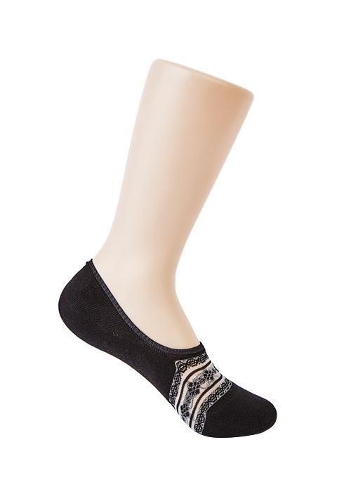 Fake lace socks