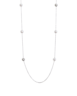Areen cubic ball necklace