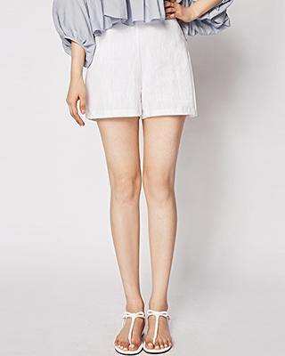 Side Slit Short Pants