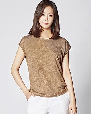 Lina Linen pocket TEE