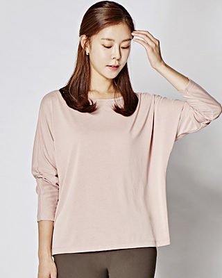 Boat Neck Modal TEE