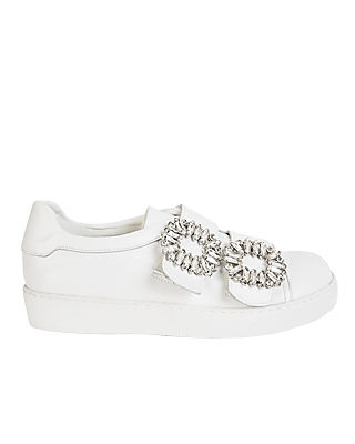 Side Bling Slip-on Shoes