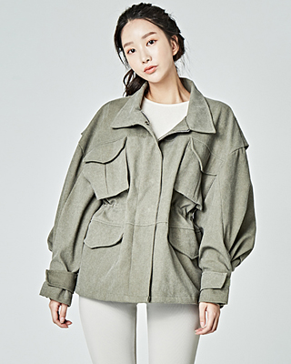 (1FJP002) overfit field jacket Jacket