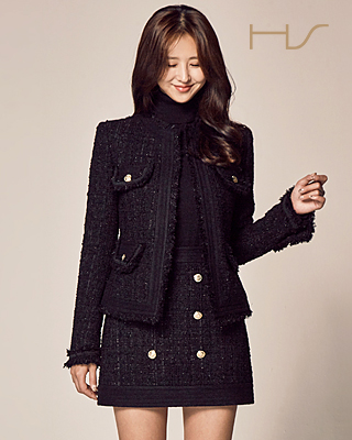 (HS1FJK006) Little black jacket