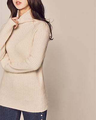 (1FNT092) Moldy Corrugated Paula Knit