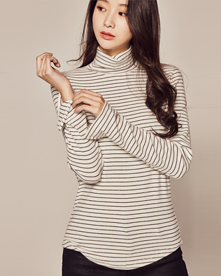(1FTT052) Stripe Highneck Tower