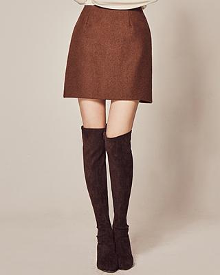 (1FSK081) Chou Chou Banding Mini Skirt