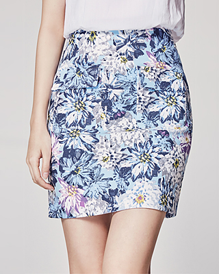 (2SSK057) Flory Mini Skirt
