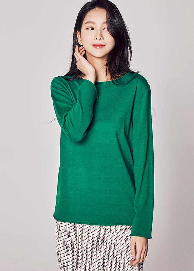 (2SNT045) Longger Cache Knit