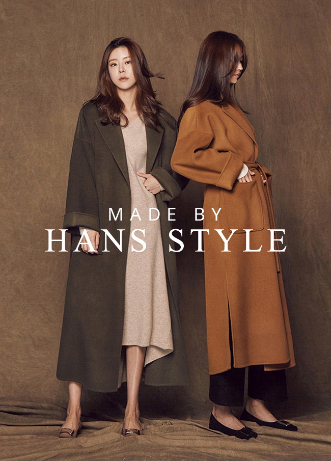 (HS1FCT002) Overfit Hand Made Coat