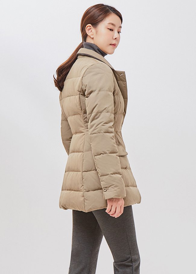 (2FJP006) Duck Down Padding Jacket
