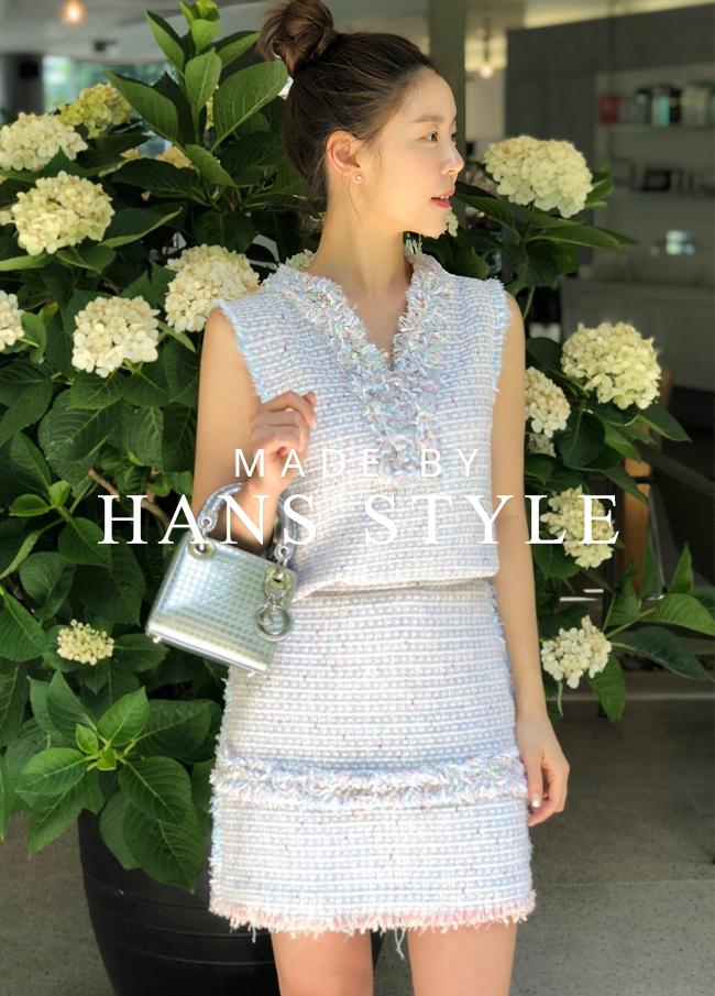 (HS2SOP015) Surgical Tweed Two Piece
