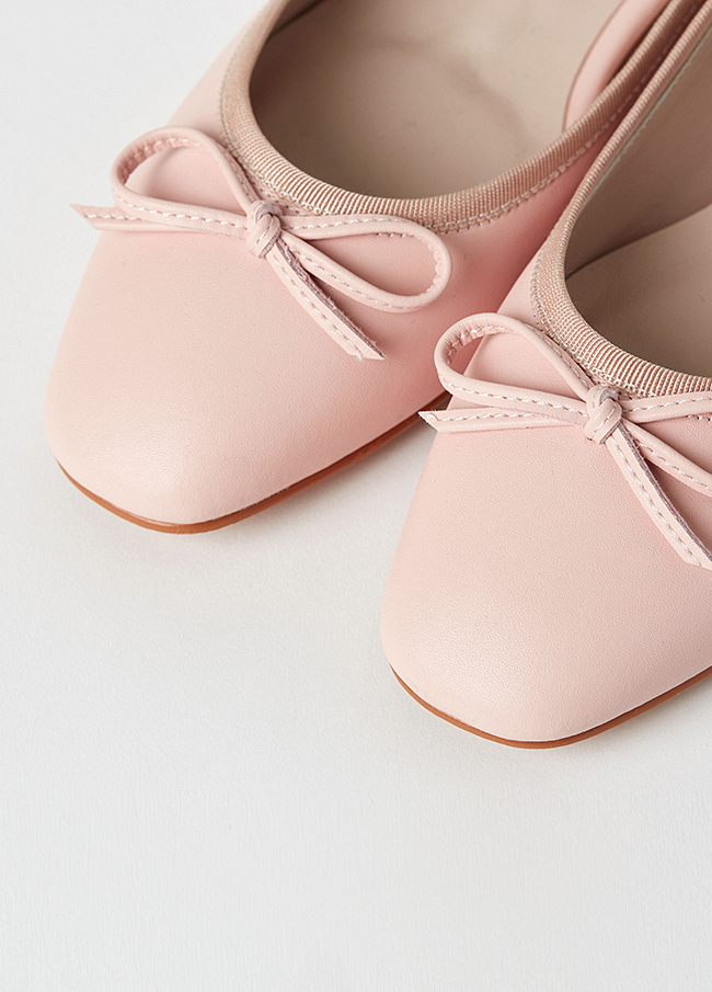 (3SSH003) 2058 bowknot Flat Shoes