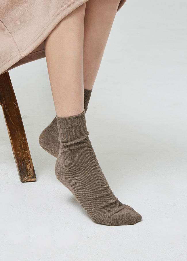 (3SAC001) two-way Corrugated Cotton Socks