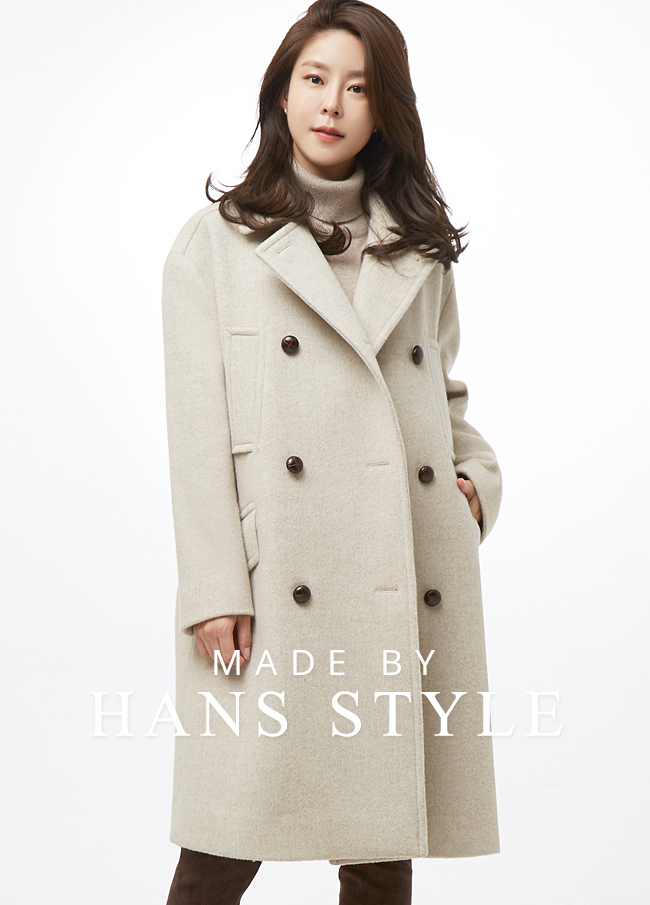 (HS2FCT012) Wool Dotted Coat