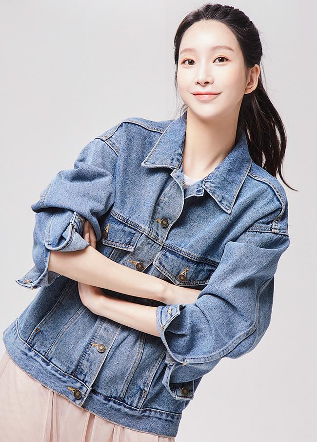 (3FJK001) loose fit cotton Denim Jacket