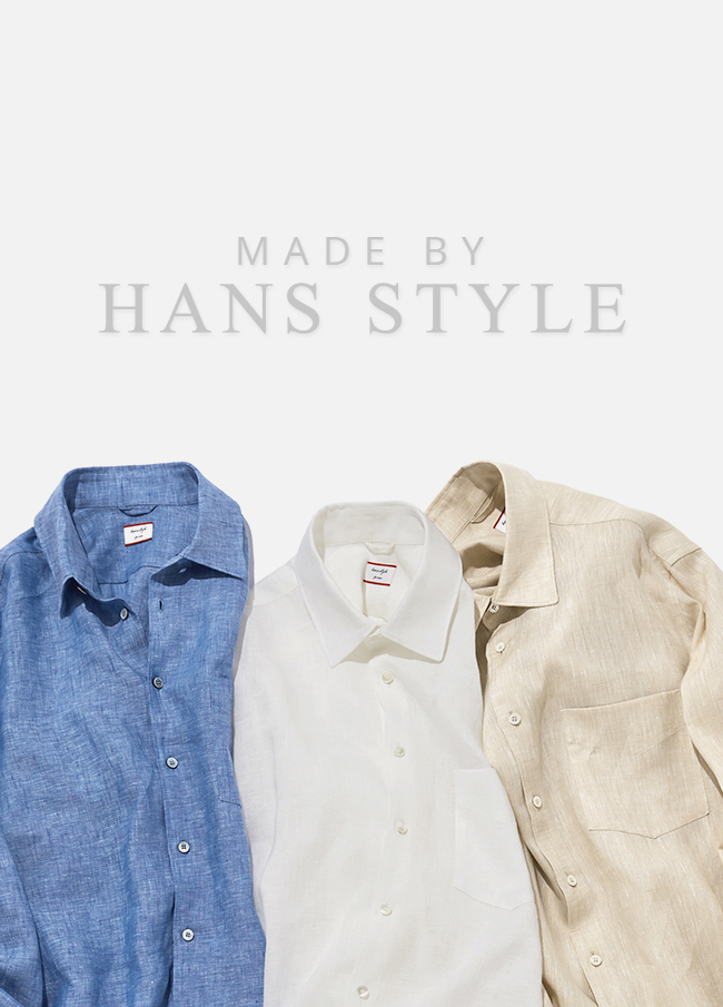 (HSM3SSH002) Standard Linen Men's Shirt