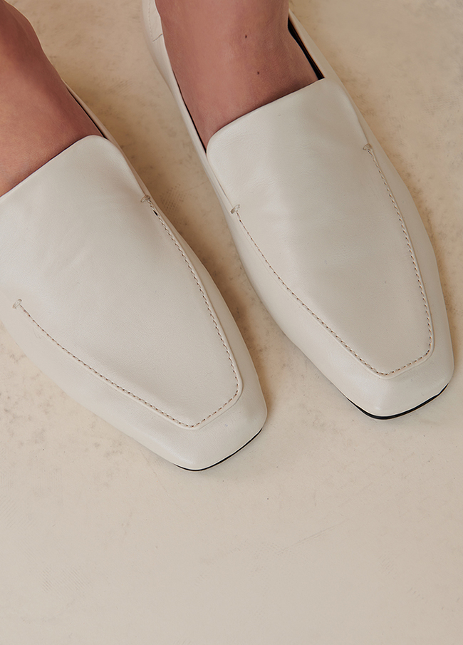 (4SSH009) 711 line Banding Loafers