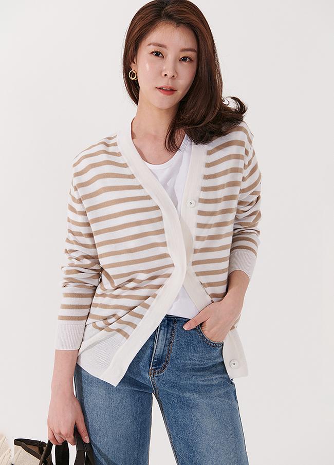 (4SCD025) 2 TYPE Wool Cardigan