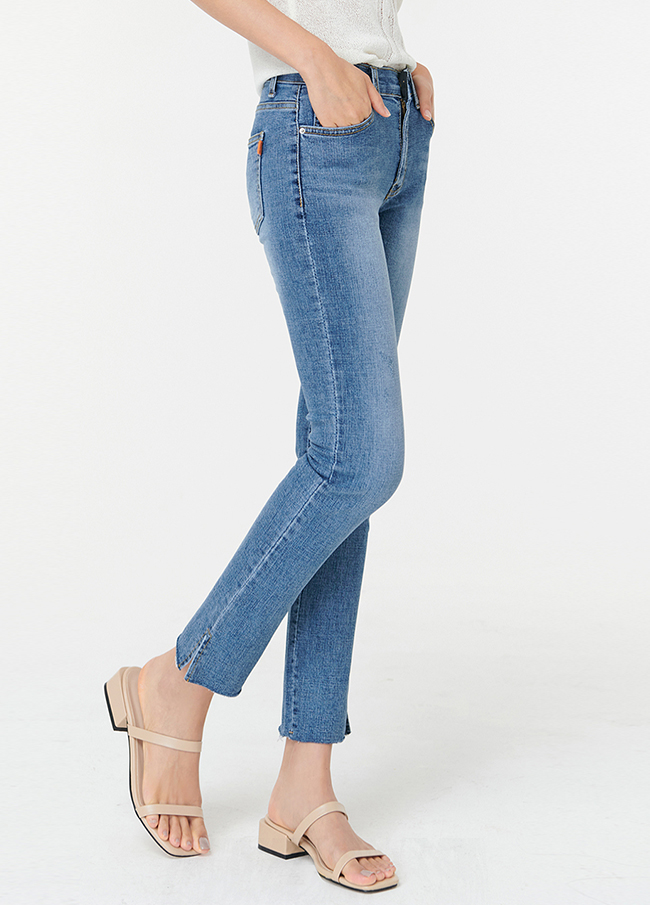(4SPT220) 217 Hidden Banding Denim Pants